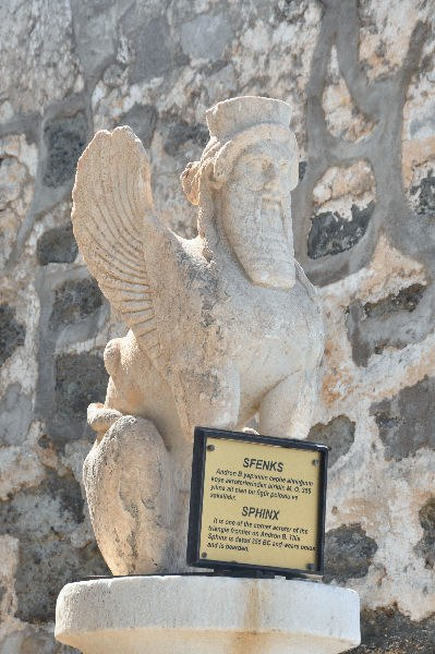 Persian sphinx at Halicarnassus