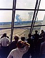 Personnel within the Launch Control Center watch the Apollo 11 liftoff.jpg