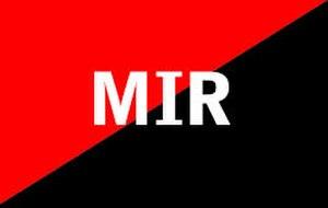 Communist symbolism - Image: Peru MIR flag