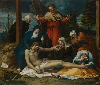 Peter Candid - Lamentation over the Dead Christ