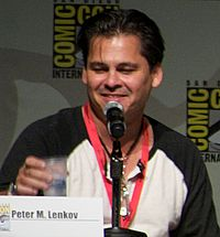 Peter Lenkov at San Diego 2010 Comic-Con International.jpg