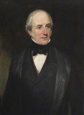 Latham of Bradwall - Peter Mere Latham, painting by Henry William Pickersgill c.1850
