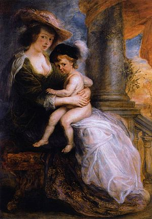Helena Fourment with Her Son Frans - Image: Peter Paul Rubens Helena Fourment with her Son Francis WGA20388