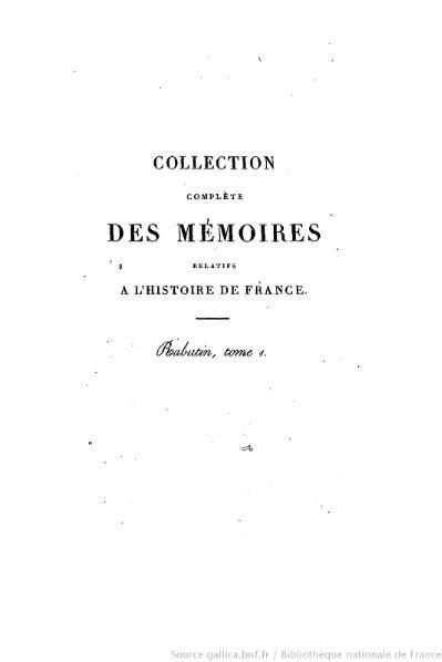 File:Petitot - Collection complète des mémoires relatifs à l'histoire de France, 1re série, tome 31.djvu