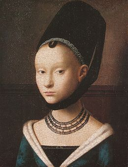 Petrus Christus, Portrait of a young girl.jpg