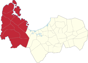 Legislative districts of Pangasinan - 1st District of Pangasinan