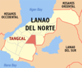 Ph locator lanao del norte tangcal.png