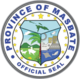Official seal of Masbate Province