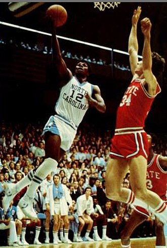 Phil Ford (basketball) - Ford at UNC in 1977