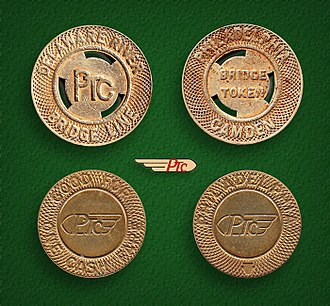 SEPTA - Philadelphia Transportation Company tokens (1940-68)