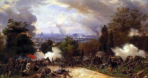 Philippoteaux - Massacre cimetiere lachaise