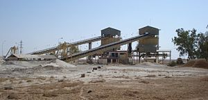 Akashat - Phosphate operation in Akashat