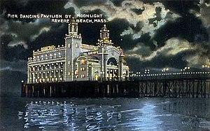 Revere Beach - Ocean Pier in c. 1910