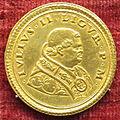 Pier maria serbaldi da pescia, medaglia di giulio II, recto (oro).JPG