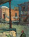 Pieter Willem Frederick Wenning SOUTH AFRICAN 1873-1921 Washday, Malay Quarter, Cape Town.jpg