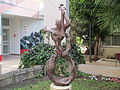 PikiWiki Israel 32047 Bronze sculpture - Muse by Solomon Leviev in Tel.JPG