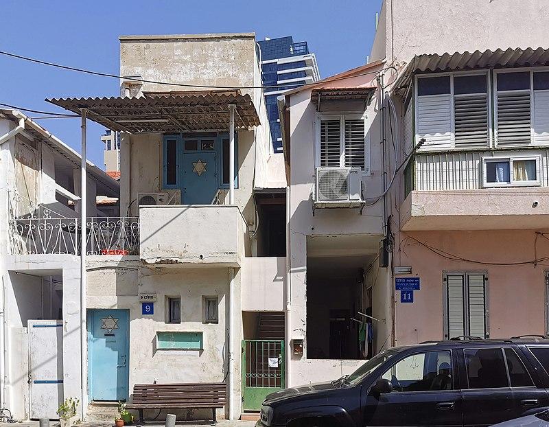 הבית ברחוב מולכו 9 בתל אביב