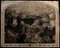 Pilgrims making their way to heavenly Jerusalem through a ha Wellcome V0048277.jpg