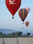 Pilot drops a marker-01 11-05pm 22nd FAI World Hot Air Balloon Championship.jpg