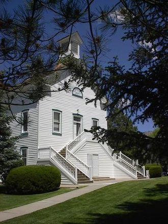 Pine Valley Chapel and Tithing Office - Image: Pine valley chapel