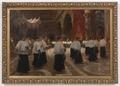 Pio Joris – Processione in una chiesa di Roma.tiff