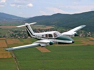 Piper PA-44 Seminole - Image: Piper pa 44