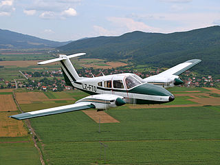 Piper PA-44 Seminole Americantwin-engined utility aircraft
