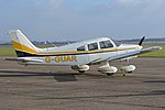 Piper PA28-161 Warrior II 'G-GUAR' (40123627262).jpg