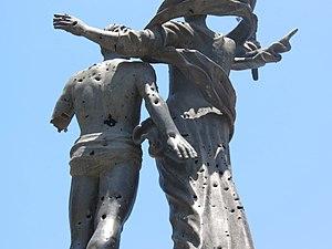 Martyrs' Square, Beirut - Image: Place des martyrs, Beirut, Monument 2016 5
