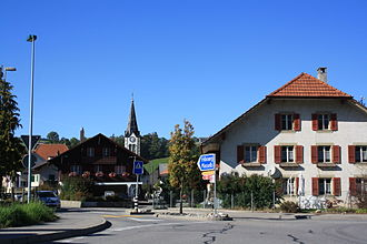 Plaffeien - Plaffeien village