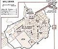 Plan de la ville de Miliana , vers la fin des Années 50.jpg