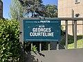 Plaque Allée Georges Courteline - Pantin (FR93) - 2021-04-27 - 2.jpg