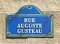Plaque de rue Auguste-Gusteau à EuroDisney.jpg