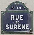 Plaque rue Surène Paris 2.jpg