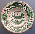Plate with bird, Teruel, Spain, 1650-1700 AD, ceramic - Museo Nacional de Artes Decorativas - Madrid, Spain - DSC08202.JPG