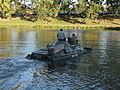 Plavení na Labi A17. Vojenské vozidlo.jpg