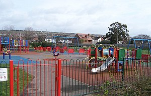 English: Play Ground-Portchester Colourful pla...