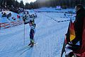 Pokljuka biathlon world cup in 2010, Teja Gregorin.jpg
