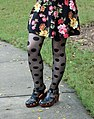 Polka Dot Tights, Fisherman Sandal Heels, and a Floral Dress (22345137138).jpg