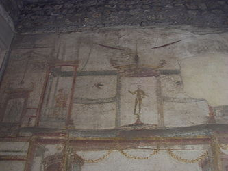 Pompeii House of the Small Fountain wall 3.jpg