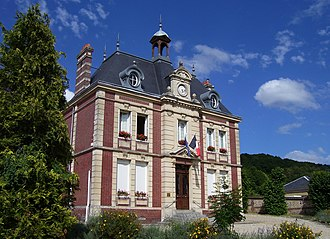 Pont-Authou - Town hall