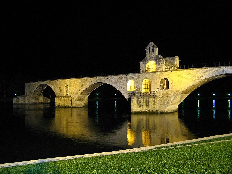 Pont Saint-Benezet (nuit)