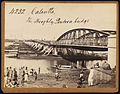 Pontoon bridge on Hooghly River in Calcutta by Francis Frith.jpg