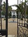 Portón de la entrada al casco de San Pedro de Timote. Estancia ubicada en el departamento de Florida..JPG