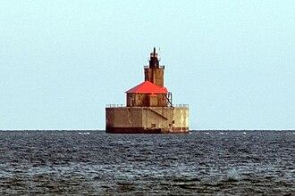 Huron County, Michigan - Image: Port Austin Reef