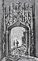 Portada del palau de Mossén Sorell de València, dibuix del natural d'Asenjo (1884).jpg