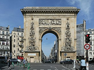 Porte Saint-Denis - Porte Saint-Denis (2011).