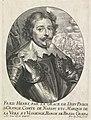 Portret van Frederik Hendrik, prins van Oranje Theatrum pontificum, imperatorum, regum, ducum (serietitel), RP-P-OB-102.683.jpg