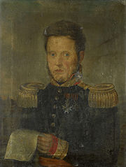Portret van een generaal