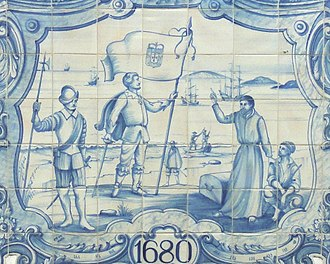 The Portuguese established Colonia do Sacramento in 1680. PortugueseMuseum-Colonia4 (cropped).jpg